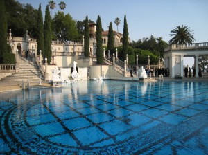 Marble Pool at Hearst Castle